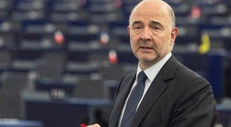 Ο Μοσκοβισί χαιρετίζει την κύρωση της Συμφωνίας των Πρεσπών από τη Βουλή των Ελλήνων
