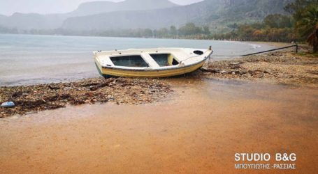Αργολίδα: Βγήκε η θάλασσα στη στεριά