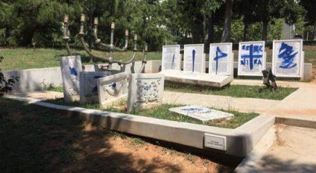 Άγνωστοι βανδάλισαν το μνημείο του εβραϊκού νεκροταφείου στο ΑΠΘ