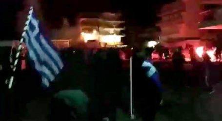 Επεισόδια έξω από το σπίτι της βουλευτή του ΣΥΡΙΖΑ, Μπέττυς Σκούφα