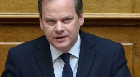 «Η ΝΔ είναι αποφασισμένη να διαπραγματευτεί, ακόμα και να βάλει βέτο στην ένταξη των Σκοπίων στην ΕΕ»