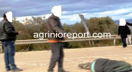 Νεκρός άνδρας στο οδόστρωμα στην Ε.Ο. Αγρινίου-Αντιρρίου