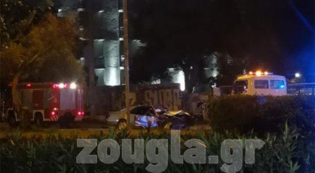 Σοβαρό τροχαίο με δύο νεκρούς και δύο τραυματίες στη Λ. Ποσειδώνος