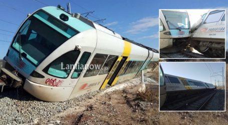 Εκτροχιάστηκε τρένο στο Λιανοκλάδι