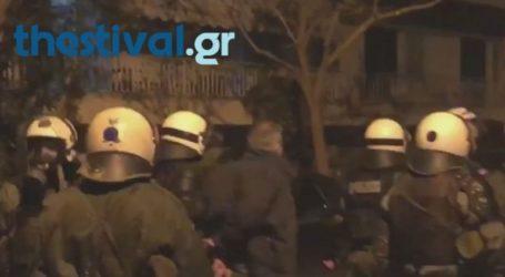 Νέος γύρος επεισοδίων μπροστά από το Μέγαρο Μουσικής Θεσσαλονίκης