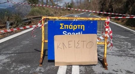 Ανυπολόγιστες ζημιές στο οδικό δίκτυο Καλαμάτας