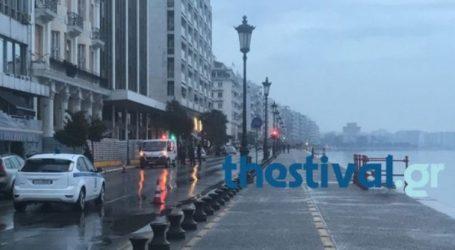 Μεταλλικό αντικείμενο η «βόμβα» που εντοπίστηκε στην παραλία της Θεσσαλονίκης