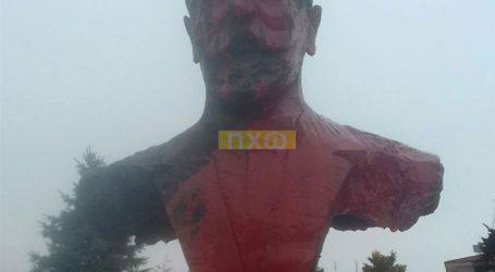 Βανδάλισαν το άγαλμα του Ελευθέριου Βενιζέλου στη Φλώρινα
