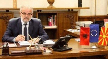 O πρόεδρος της Βουλής της πΓΔΜ, Ταλάτ Τζαφέρι προήδρευσε στην αλβανική γλώσσα