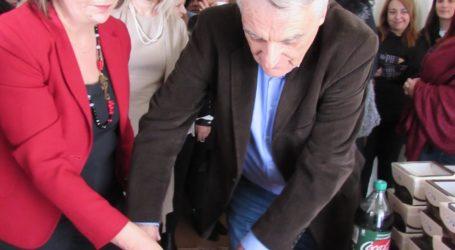 Χέρι – χέρι Χρυσοβελώνη και Πουλάκης έκοψαν την πίτα του Υπουργείου Εσωτερικών