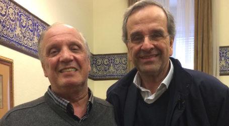 Τον Αντώνη Σαμαρά συνάντησε ο Τέλης Δουλόπουλος