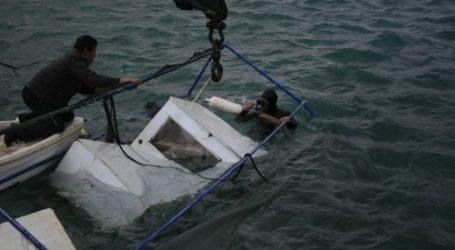 Βυθίστηκε σκάφος στην Σκόπελο λόγω ισχυρών ανέμων