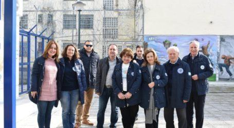 """Οι """"Γιατροί της Καρδιάς"""" επισκέφθηκαν το Σχολείο Δεύτερης Ευκαιρίας Λάρισας"""