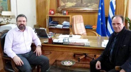 Στήριξη της αγροτικής ανάπτυξης ζήτησε ο Δήμαρχος Ζαγοράς – Μουρεσίου από τον αρμόδιο Υπουργό