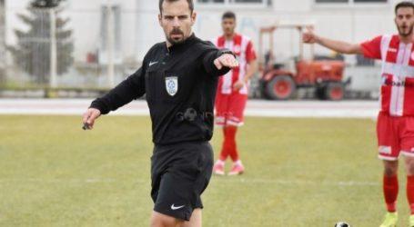 Ο Μελτζανίδης θα διευθύνει το παιχνίδι Απόλλων Μακρ.-Νίκη