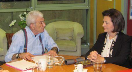 Συνάντηση Χρυσοβελώνη – Μπουτάρη στη Θεσσαλονίκη
