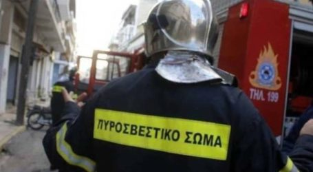 Συναγερμός στην Πυροσβεστική για φωτιά σε κουζίνα διαμερίσματος στη Λάρισα