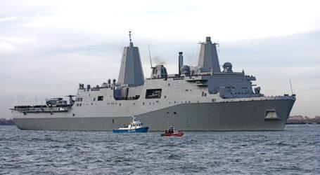 Και δεύτερο αμερικανικό πλοίο στον Παγασητικό κόλπο [εικόνα]