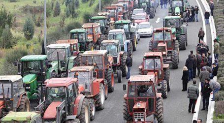 Στον κόμβο του Αερινού οι αγρότες του Βελεστίνου