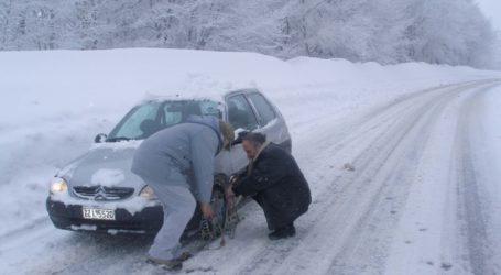 Δείτε που απαγορεύεται η κυκλοφορία οχημάτων στο νομό Λάρισας και σε όλη τη Θεσσαλία