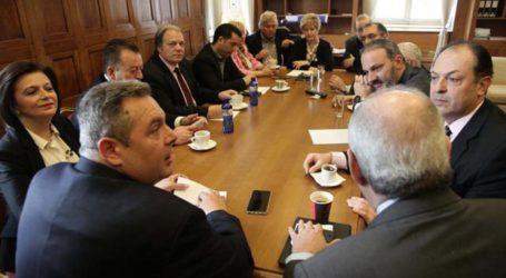 """Ζήτησε να αποσύρει τους υπουργούς ο Καμμένος! """"Όχι"""" από την Κ.Ο των ΑΝΕΛ – Οι πιο έντονες πιέσεις στον Βασίλη Κόκκαλη"""