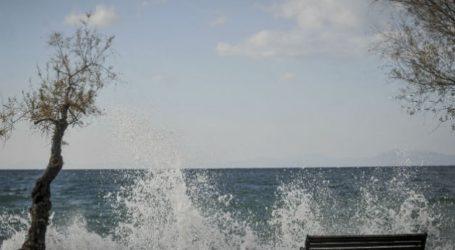 Λιμεναρχείο Βόλου: Θυελλώδεις άνεμοι έως 8 μποφόρ