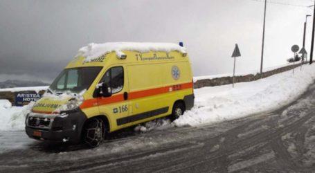 Σοβαρό τροχαίο ατύχημα έξω από τον Τύρναβο – Με κατάγματα στο νοσοκομείο ένας άντρας