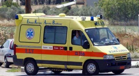 Εκτροπή αυτοκινήτου έξω από τη Λάρισα – Τραυματίστηκε κοπέλα