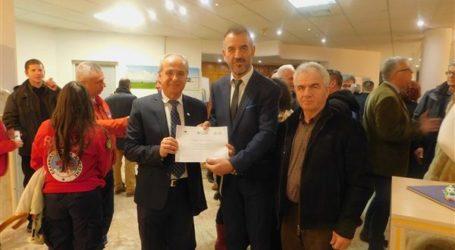 Ο δήμος Λαρισαίων τίμησε την προσφορά και της Ένωσης Αποστράτων Αξιωματικών Αεροπορίας Λάρισας