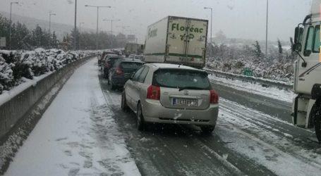 Απαγόρευσε την κυκλοφορία σε φορτηγά η αστυνομία για το τμήμα της εθνικής οδού που διέρχεται τη Λάρισα