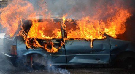 Φωτιά σε αυτοκίνητο στον Βόλο