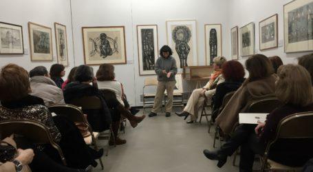 Επισκέψεις στο Χώρο Τέχνης «δ.» μαθητών του Σχολείου Δεύτερης Ευκαιρίας και της Ομάδας Τέχνης για τα έργα Α.Τάσσου