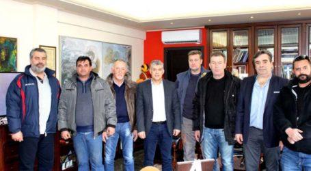 Συνάντηση Περιφερειάρχη Θεσσαλίας με κτηνοτρόφους