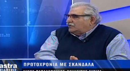 Πολιτικά κίνητρα πίσω από την απόφαση της Ένωσης Δικαστών βλέπει ο βουλευτής του ΣΥΡΙΖΑ Νίκος Παπαδόπουλος (video)
