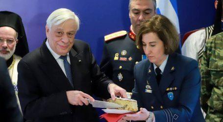 Στον Παυλόπουλο το φλουρί της πίτας της Προεδρικής Φρουράς