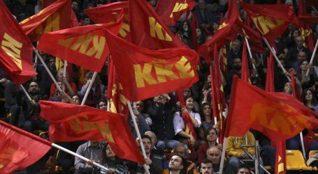 Συγκέντρωση διαμαρτυρίας του ΚΚΕ ενάντια στη Συμφωνία των Πρεσπών