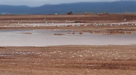 Με γρήγορους ρυθμούς η κατασκευή της λιμνοδεξαμενής Ξηριά στον Αλμυρό