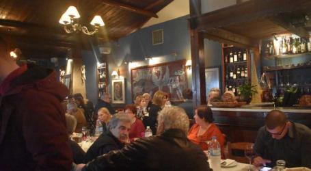 Σε ευχάριστο κλίμα με φαγητό, ποτό και καλή μουσική έκοψε την πίτα του ο ΣΥΡΙΖΑ Λάρισας (φωτο)