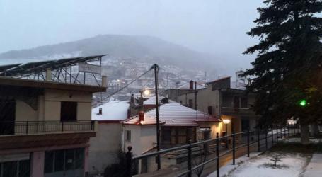 Έπεσε πάλι χιόνι στα ορεινά της Ελασσόνας – Δείτε φωτογραφίες!