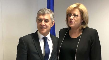 H Επίτροπος Περιφερειακής Ανάπτυξης της ΕΕ Κορίνα Κρέτσου στον Αγοραστό: «Περιφέρεια – πρότυπο στην υλοποίηση του ΕΣΠΑ η Θεσσαλία»