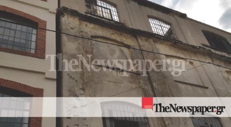 «Άγιο» είχε 65χρονη γυναίκα στον Βόλο – Έπεσαν σοβάδες από το κτίριο Ματσάγγου [εικόνα]