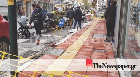 Έτσι θα γίνουν τα νέα πεζοδρόμια στην οδό Ιωλκού [εικόνα]