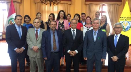 Συνεργασία του Δήμου Λαρισαίων με το Δήμο Μιραφλόρες του Περού