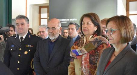 Λαμπερά εγκαίνια στο Μουσείο Σιτηρών και Αλεύρων στη Λάρισα παρουσία της υπουργού Πολιτισμού Μυρσίνης Ζορμπά (ΦΩΤΟΡΕΠΟΡΤΑΖ – ΒΙΝΤΕΟ)