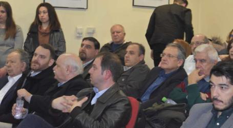 Τρόπους ενίσχυσης της επιχειρηματικότητας παρουσίασε η Συνεταιριστική Τράπεζα Θεσσαλίας στο Επιμελητήριο Λάρισας