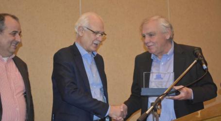 Βραβεύτηκαν Αγοραστός και Καλογιάννης στην ενημερωτική εκδήλωση Πανελληνίου Συνδέσμου Τεχνικών Εταιρειών στη Λάρισα (φωτο-βίντεο)