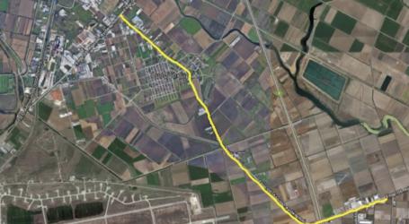 Ασφαλτόστρωση και διαγράμμιση στο οδικό δίκτυο μεταξύ Λάρισας – Συκουρίου και Λάρισας – Αγιάς