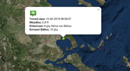 Σεισμός 2,8 ρίχτερ στον Βόλο [χάρτης]