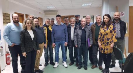 Συνάντηση των Ομοσπονδιών της Θεσσαλίας και Φθιώτιδας στο ΙΜΕ ΚΕΚ ΓΣΕΒΕΕ