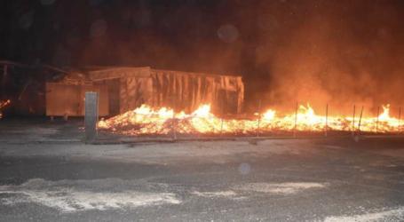 Καταλάγιασαν οι φλόγες στο εργοστάσιο στη Λάρισα – 2η φορά καταστροφή στην ίδια επιχείρηση! Τι δηλώνει στο onlarissa.gr ο Διοικητής Π.Υ. Θεσσαλίας (φωτο – βίντεο)